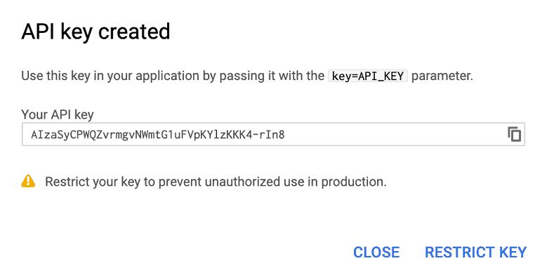Google API Anahtarı Oluşturma