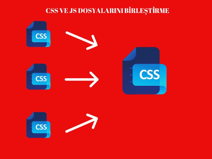 CSS VE JS Dosya Birleştirme - WordPress site hızlandırma