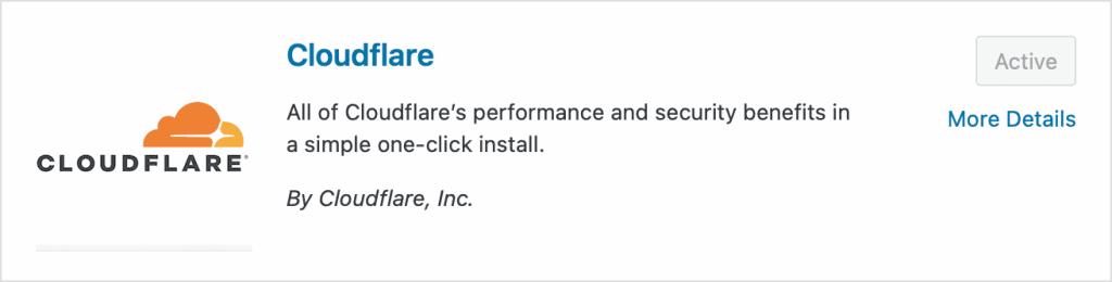 cloudflare wordpress eklentisi