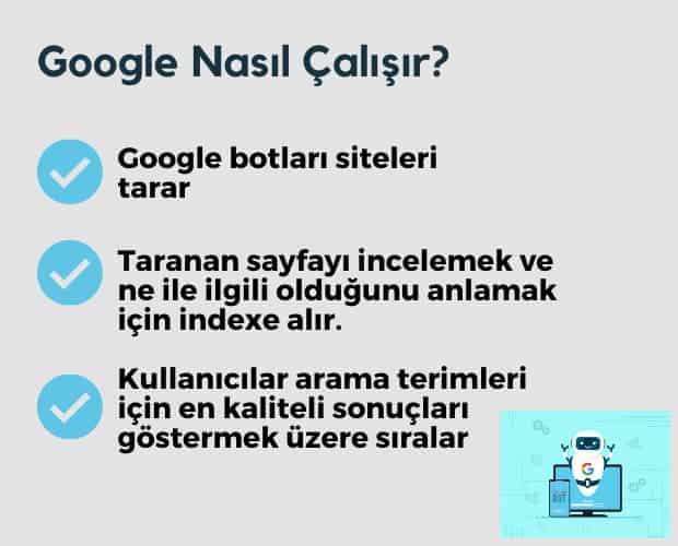 Google Nasil Calisir