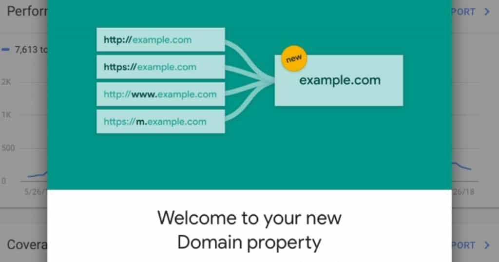 google domain property