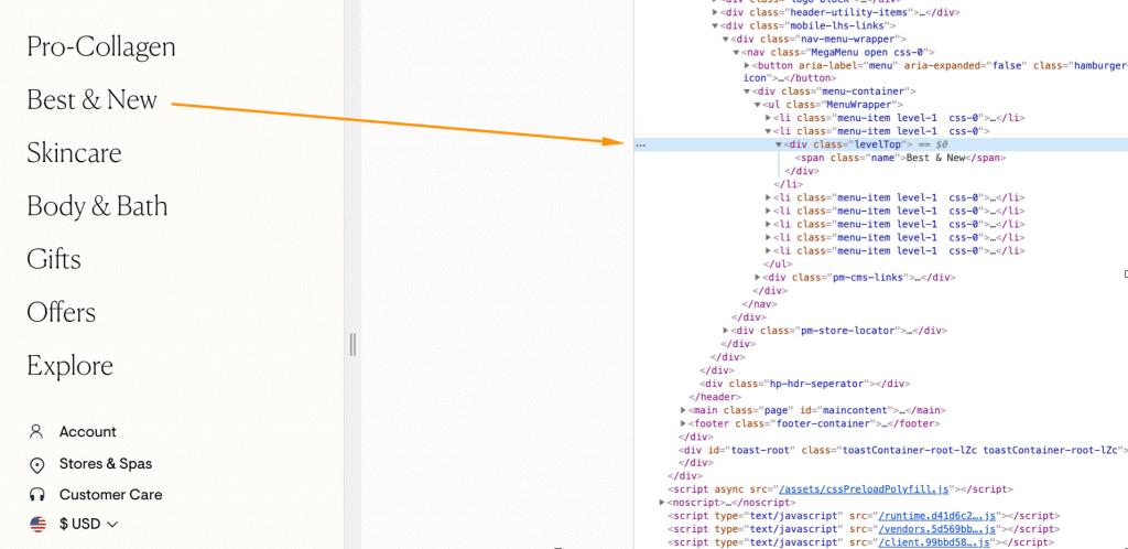 website navigasyonu taranmıyor - Javascript SEO