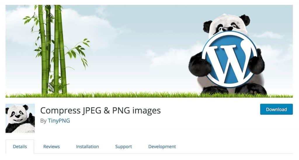 Compress JPEG & PNG Images wordpress eklentisi